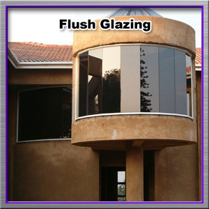 flush-glazing
