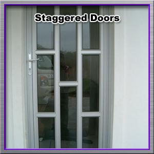staggered-doors