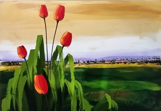 paul-munro--landscape-with-tulips