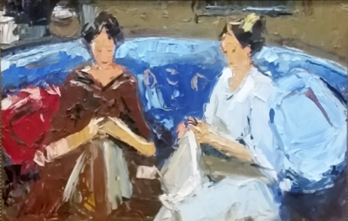 corne-weideman--two-women-sitting