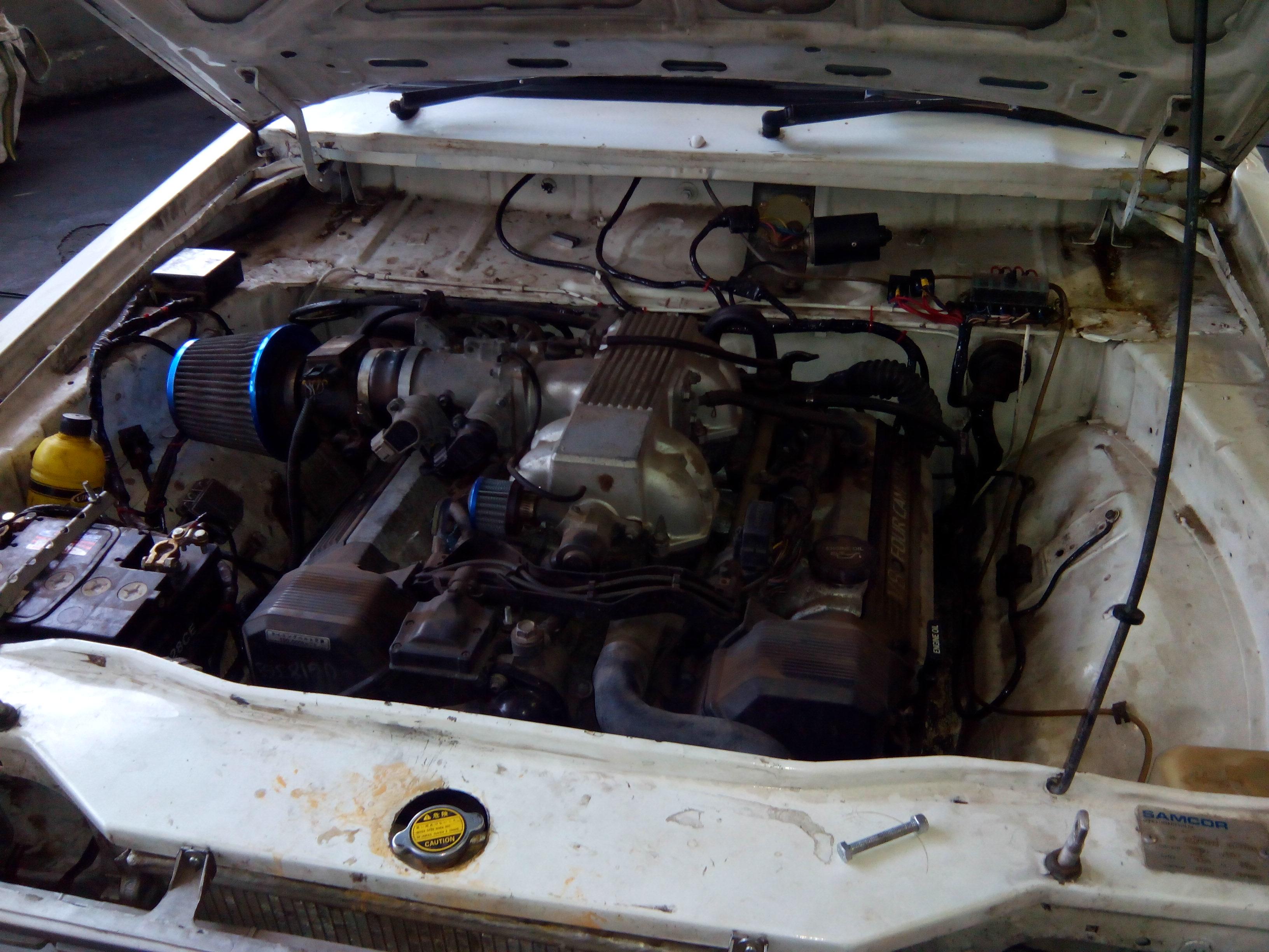 Spitronics Wiring Lexus V8 Mazda Bakkie – Lexus V8 Conversion Wiring