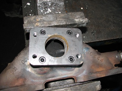 Turbo flange upgrade