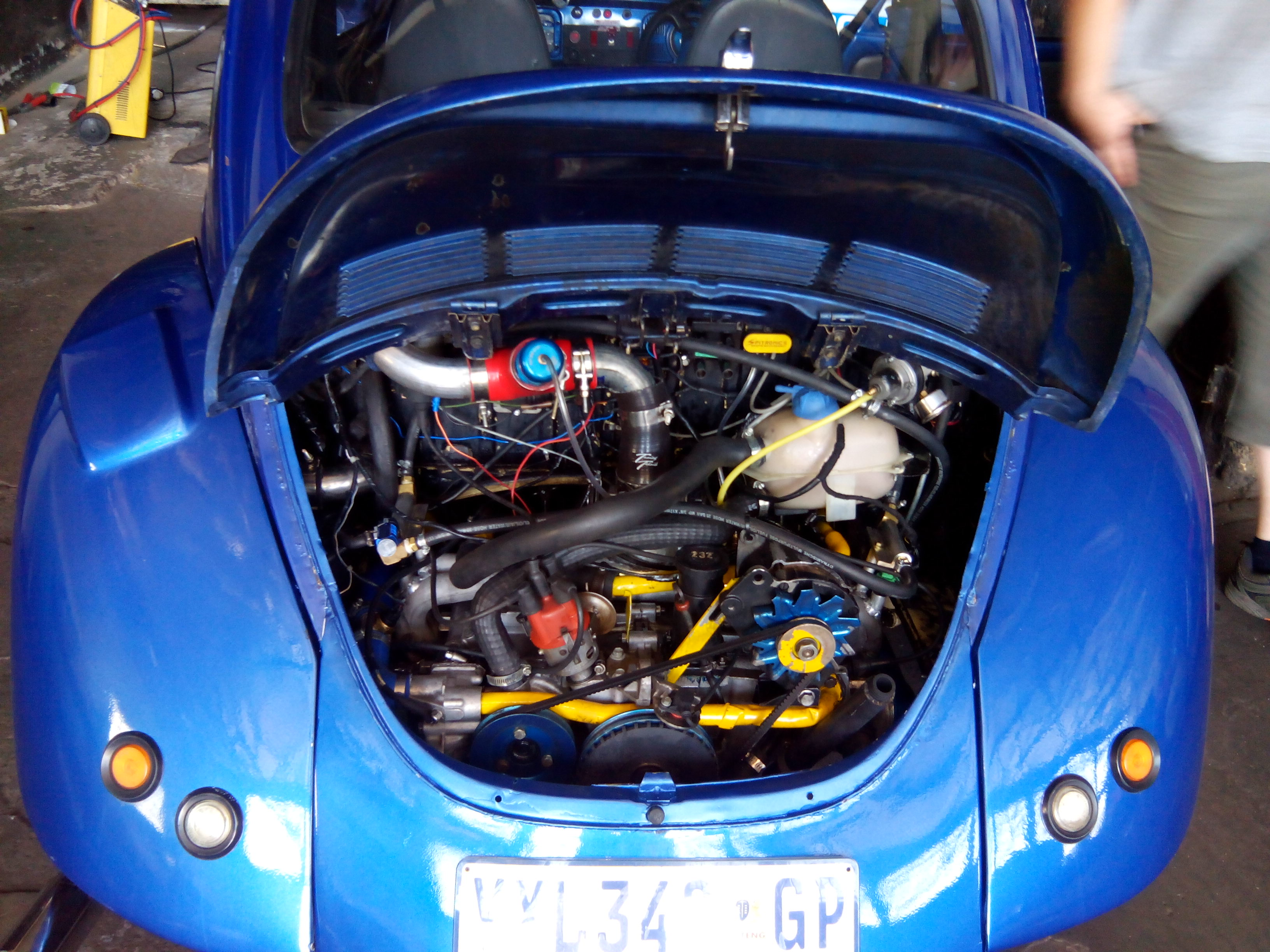 Vw Beetle 2 0 Fuel Injected Turbo Engine   Engine Conversions
